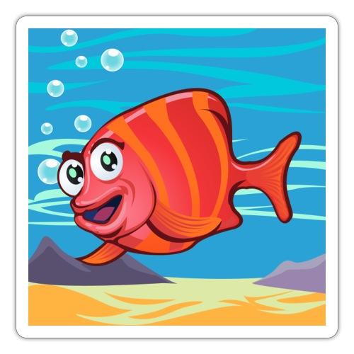 Fish Cartoon - Adesivo