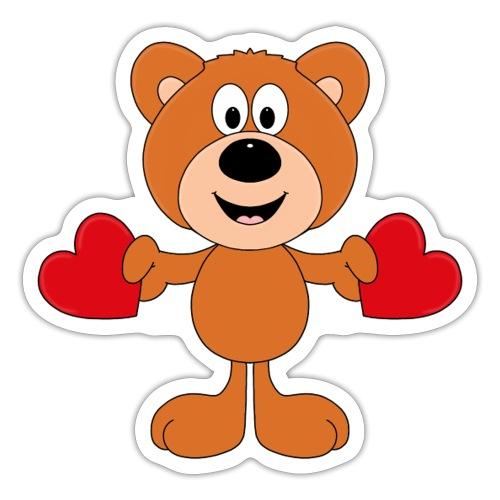 TEDDY - BÄR - LIEBE - LOVE - KIND - BABY - Sticker