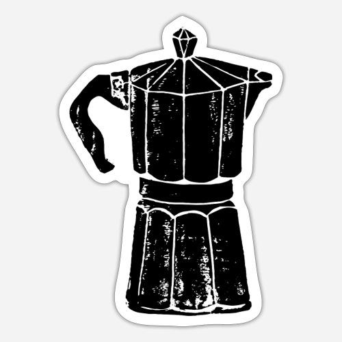 Bialetti – Kaffee– But first coffee - Sticker