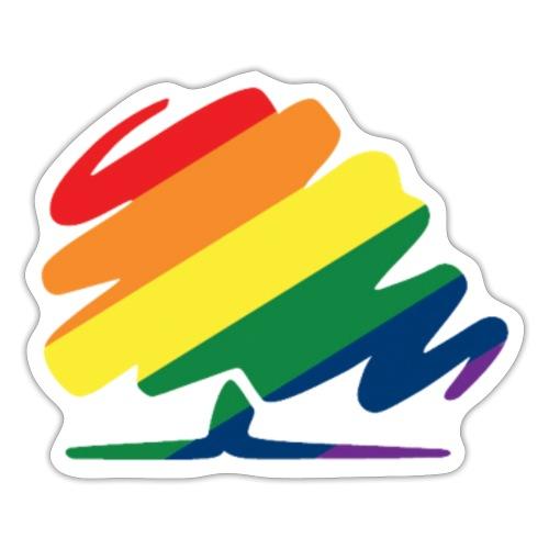 Classic LGBT+ Conservative logo - Sticker
