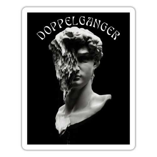 Doppelganger t-shirt - Adesivo