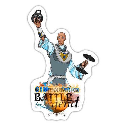 Conjurateur Battle for Legend X 01Musculation - Autocollant