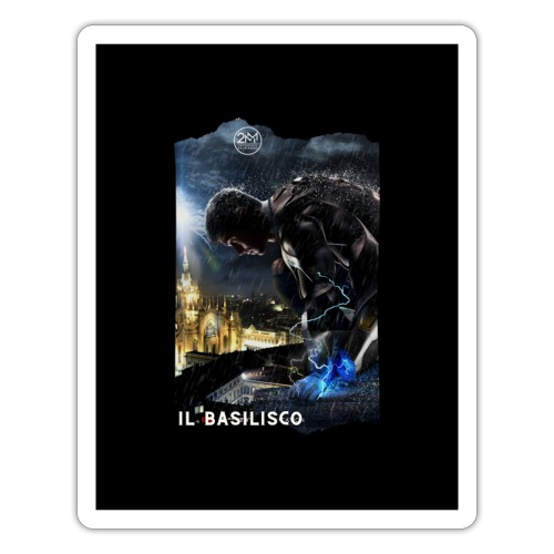 T-shirt del Basilisco - Adesivo