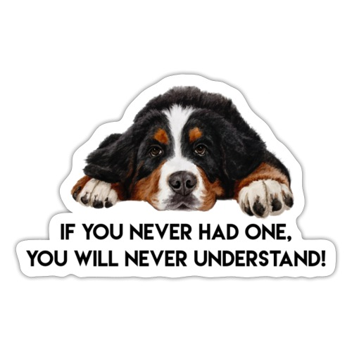 Bernese Mountain dog - Sticker