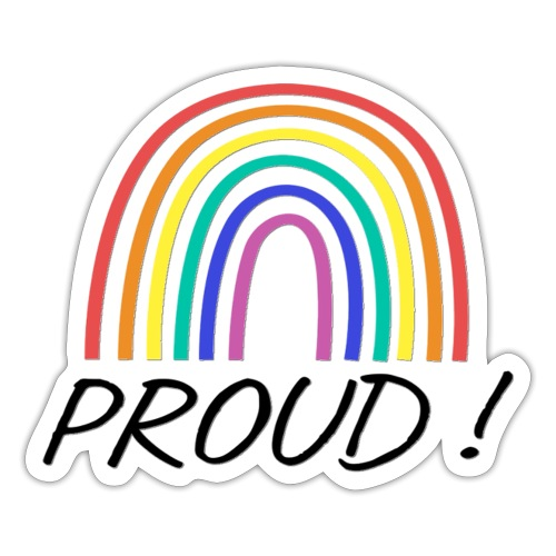proud - Sticker