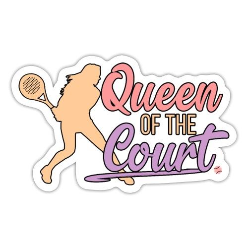Queen of the Court - Klistermärke