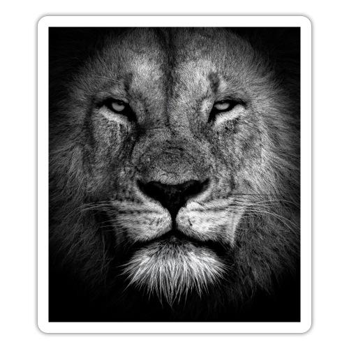 Lion Portrait - Pegatina