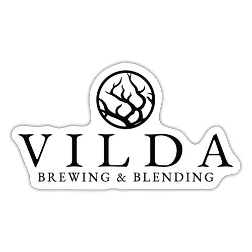 Vilda Black Logo - Klistermärke