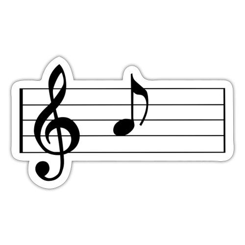 music sheet 1275643 - Adesivo