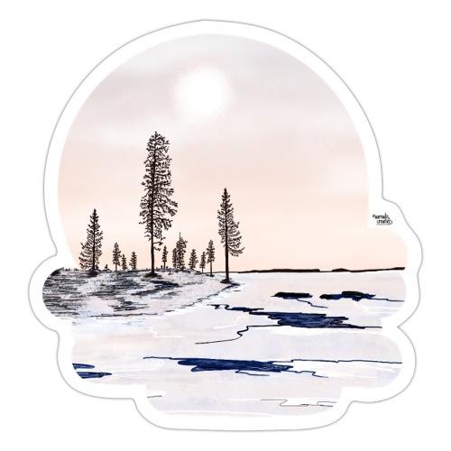 Fonte des glaces - Autocollant