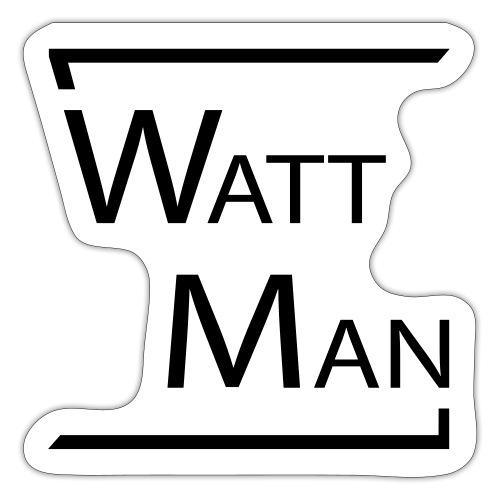 Watt Man - Sticker