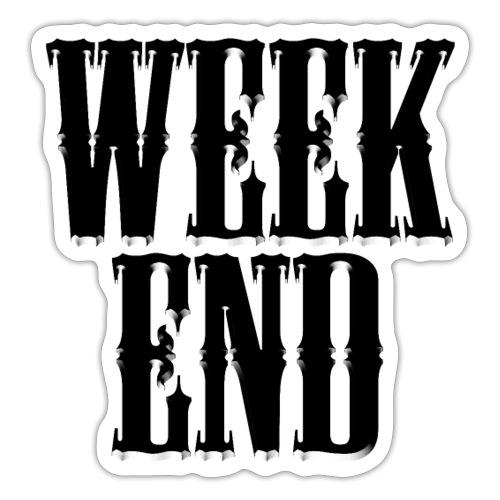WEEKEND - Sticker