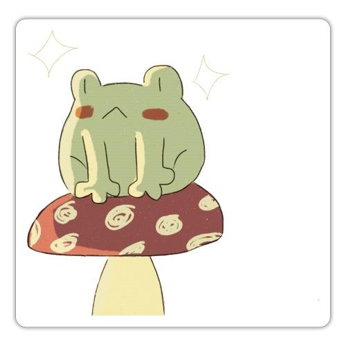 Sitting froggie - Pegatina