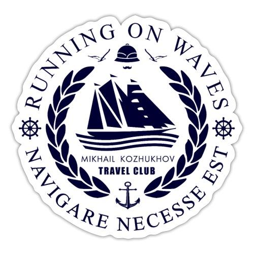 RUNNING ON WAVES - Sticker