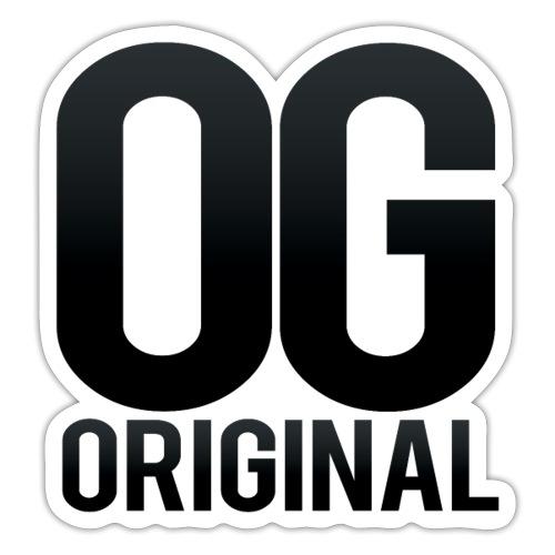 OG as original - Sticker