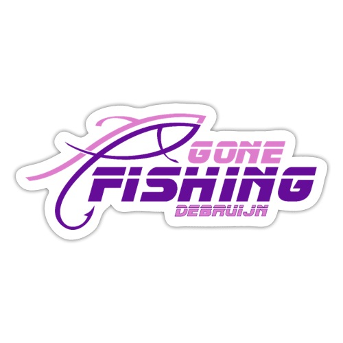 GONE-FISHING (2022) DEEPSEA/LAKE BOAT P-COLLECTION - Sticker