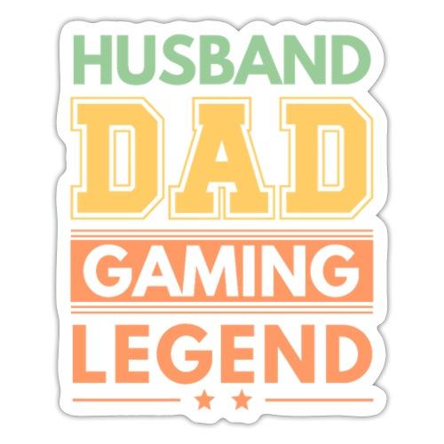Make, Pappa, Gaming Legend - Stolt Sådan - Klistermärke