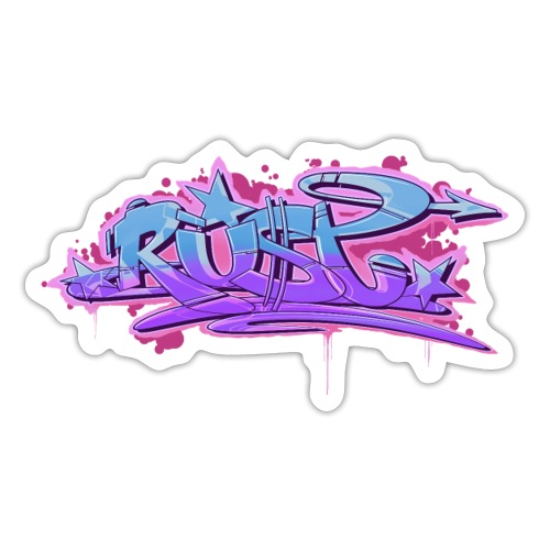 Rust Pink Swing - Sticker