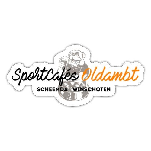 SportCafés Oldambt - Sticker