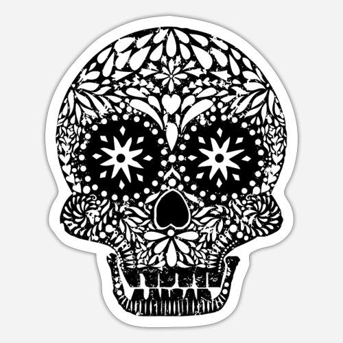 Dias de los Muertos | Skull | Der Tag der Toten - Sticker
