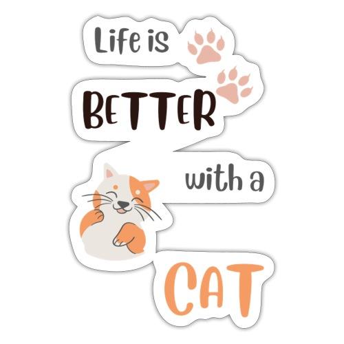 cat lovers - Sticker