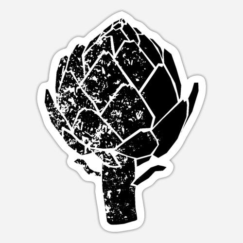 Artischocke   Cynara cardunculus   artichoke Shirt - Sticker