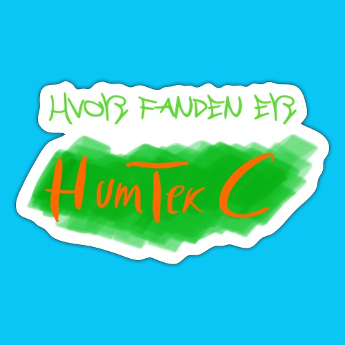 HumTek C - Sticker