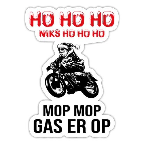snelle kerstman - Sticker