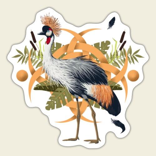 Kronenkranich - Sticker