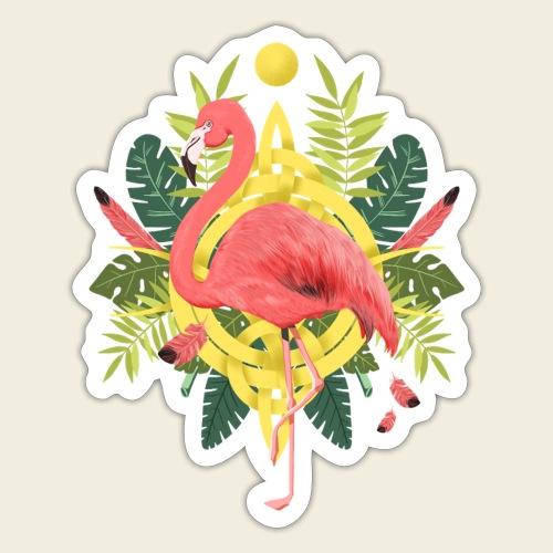 Flamingo-Design - Sticker