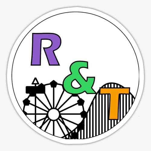 *Limited Edition* Robin & Thomas Merch Zwart - Sticker