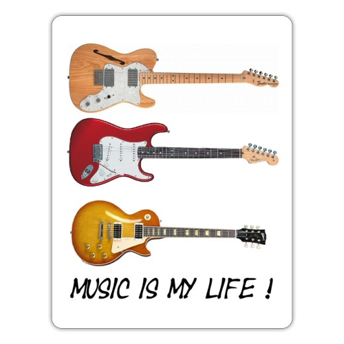 Music is my life! - Klistremerke