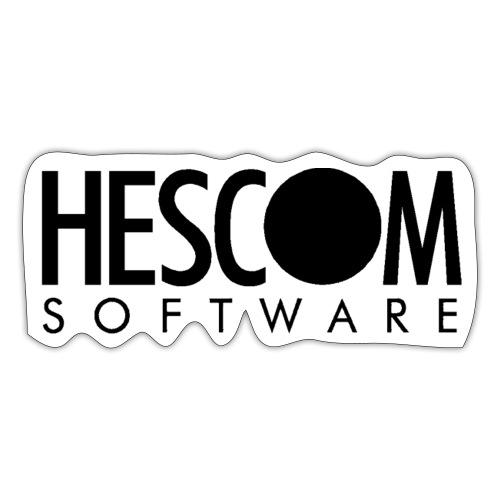 hescomlogo monochrom - Sticker
