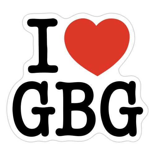 I love GBG - Klistermärke