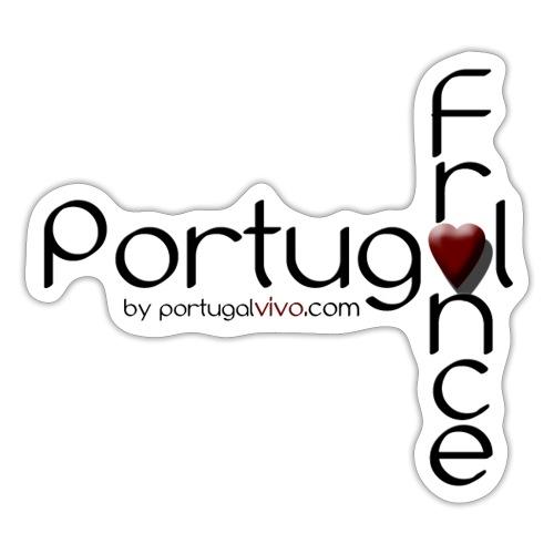 Portugal Love France - Autocollant