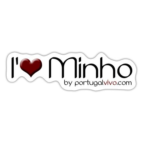 I Love Minho - Autocollant