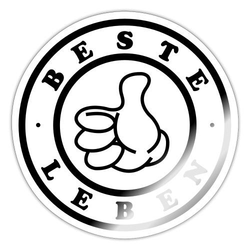 Beste Leben Logo - Sticker