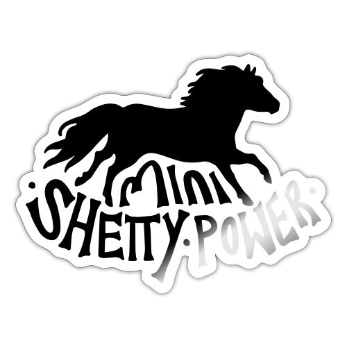 Shetty Power - Sticker