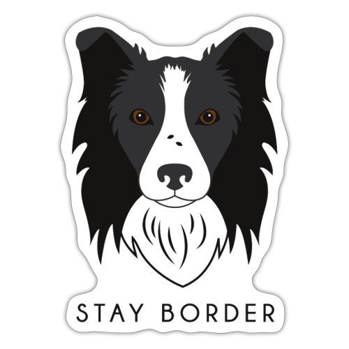 Border Collie - Dark - Adesivo
