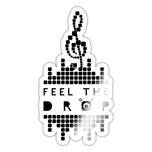 Feel the drop - Dark - Adesivo