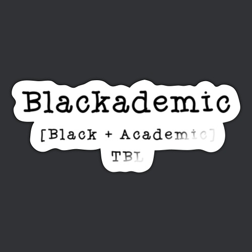 Equation Black + Academic - Sticker