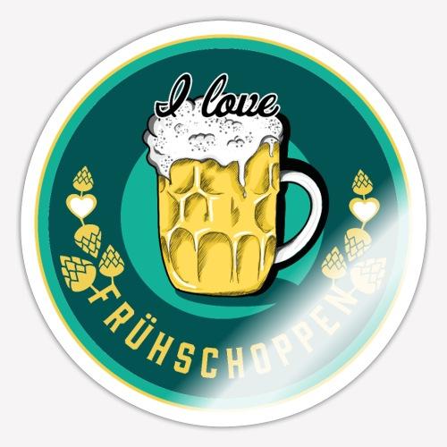 I love Frühschoppen - Sticker