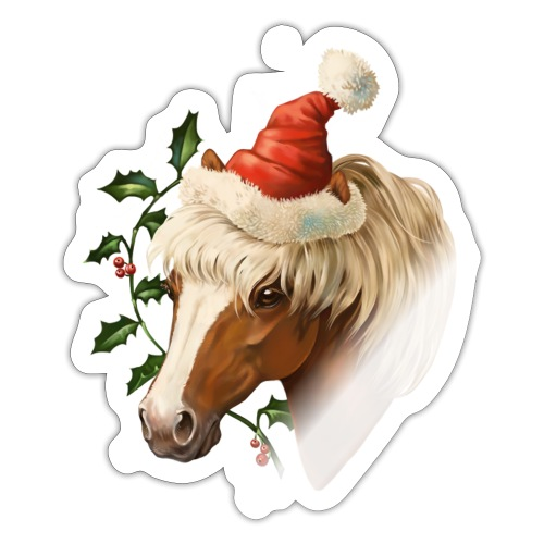 Christmas Pony - Sticker