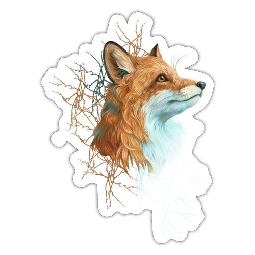 Happy the Fox - Sticker
