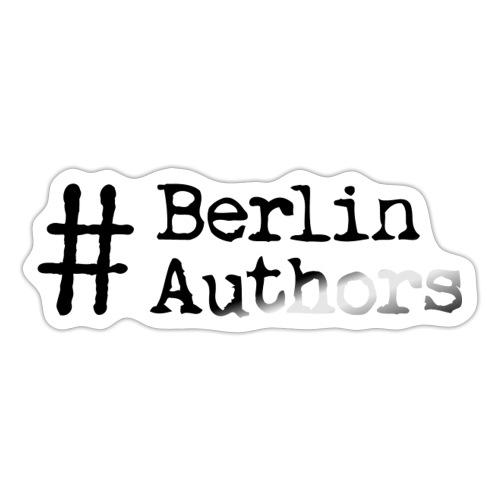 BerlinAuthors Logo Black - Sticker