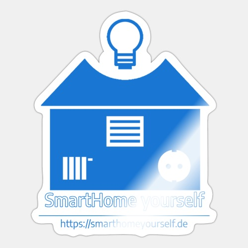 SmartHome yourself Logo Groß - Sticker