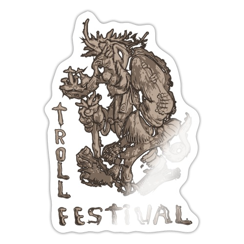 Trollfestival - Klistremerke