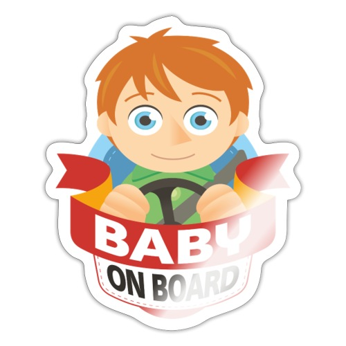 Baby On Board - Sticker