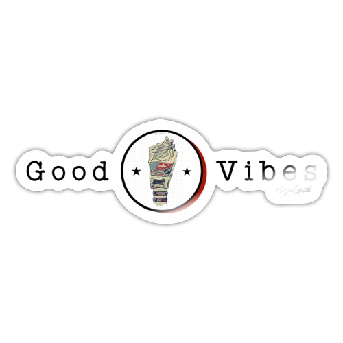 Good Vibrations - Sticker
