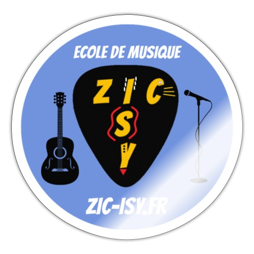 Zic izy ecole de musique - Autocollant